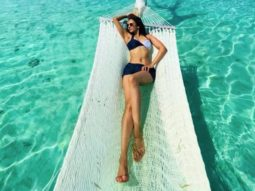 Bikini clad Rakul Preet Singh raises temperatures like a boss lady on a hammock