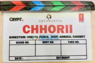 On the sets of the movie Chhorii
