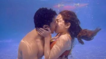 Coolie No. 1 trailer Sara Ali Khan and Varun Dhawan's underwater lip-lock goes viral