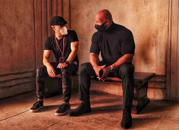 Dwayne Johnson wraps up Netflix's Red Notice, thanks director Rawson Thurber for being quite the forcebehind this film