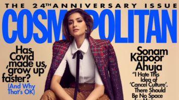 Sonam Kapoor Ahuja On The Covers Of Cosmopolitan