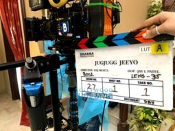 On The Sets Of The Movie Jug Jugg Jeeyo