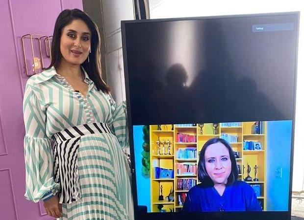 Kareena Kapoor Khan resumes shoot for What Women Want, speaks to Barkha Dutt virtually