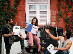 Kun Faya Kun: Harshvardhan Rane, Sanjeeda Shaikh & Kushan Nandy paint a happy picture on the sets of the film