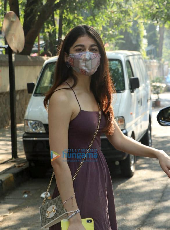 Photos: Alaya F snapped in Bandra