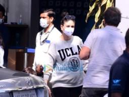 Photos: Kareena Kapoor Khan, Malaika Arora and Ahan Shetty snapped at the Kalina airport