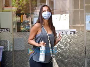 Photos: Malaika Arora spotted at Muah salon