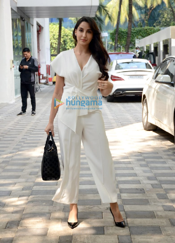 Photos: Nora Fatehi spotted at T-Series new office