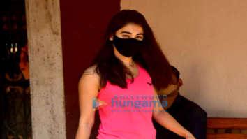 Photos: Pooja Hegde spotted at Pilates