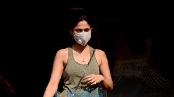 Photos: Shamita Shetty snapped in Juhu
