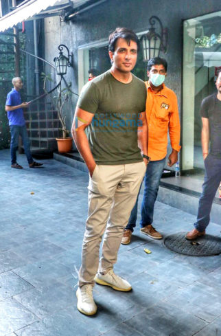 Photos: Sonu Sood snapped in Juhu