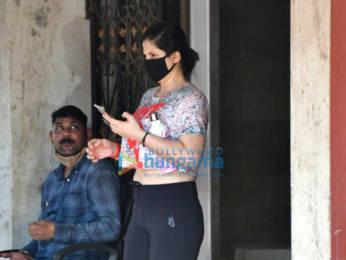 Photos: Zareen Khan spotted at Pilates