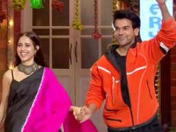 Rajkummar Rao and Nushrat Bharucha at The Kapil Sharma Show Chhalaang Special Episode