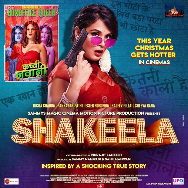 Richa Chadha starrer Shakeela, based on the spunky South superstar, set for Christmas 2020 release in theatres