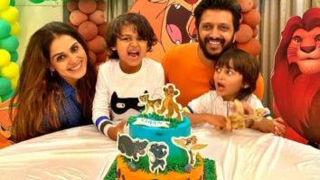 Riteish Deshmukh and Genelia D'souza celebrate their son Riaan's birthday, pen heartwarming messages