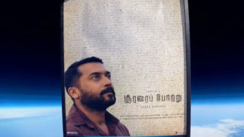 Suriya honours his fans with a speacial poster for his upcoming film Soorarai Pottru to gear up for a take off of a lifetime