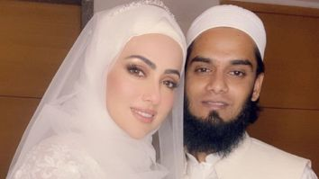 Sana Khan shares stunning pictures with husband Mufti Anas from her wedding day