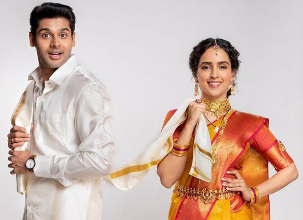 सान्या मल्होत्रा और अभिमन्यु दासानी आगामी नेटफ्लिक्स फिल्म मीनाक्षी सुंदरेश्वर में अभिनय करने के लिए, अपना पहला लुक देखें: