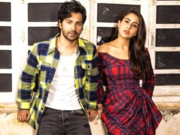 Sara Ali Khan and Varun Dhawan announce Coolie No.1 trailer release in a fun way