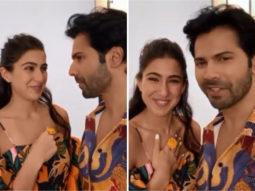 Sara Ali Khan's 'knock knock' joke stumps Varun Dhawan, watch video