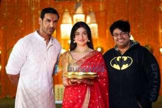 On The Sets Of The Movie Satyameva Jayate 2
