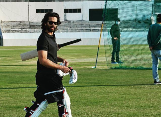 Shahid Kapoor preps in style for Jersey ahead of the next schedule