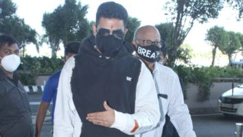Spotted - Abhishek Bachchan and Sharad Kelkar at Airport