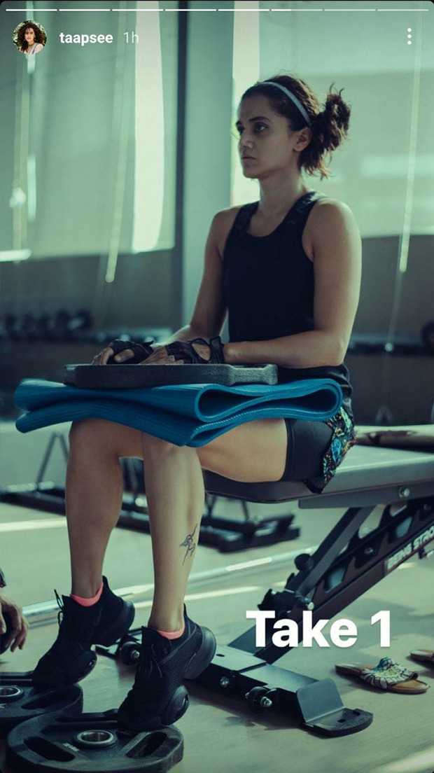 Taapsee Pannu's workout regime for Rashmi Rocket is pretty intense