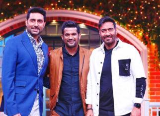 The Kapil Sharma Show: Ajay Devgn, Abhishek Bachchan, Sohum Shah grace the show to promote The Big Bull