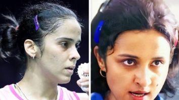 Saina Nehwal reacts to a new still from her biopic; calls Parineeti Chopra her lookalike