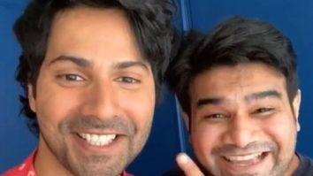 Watch: Varun Dhawan and Sahil Vaid reunite and recreate a scene from Humpty Sharma Ki Dulhania