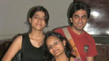 Ayushmann Khurrana and Tahira Kashyap share a picture from their college days; call it 'the days of red eyes and constant butterflies in the stomach'