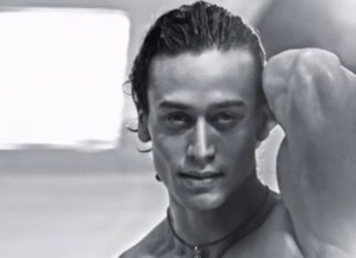 Tiger Shroff shares a glimpse from his first photoshoot; jokes about his facial hair