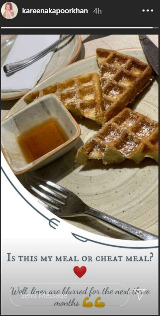 मॉम-टू-बी करीना कपूर खान ने अपने धोखा खाने की तस्वीर साझा की;  कहते हैं कि अगले तीन महीनों के लिए सभी लाइनें धुंधली हैं