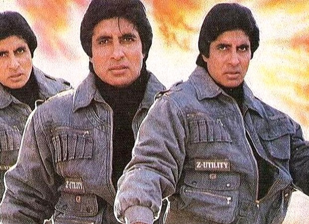 Amitabh Bachchan shares a still from a film that never got made