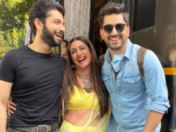 Zain Imam meets Naagin 5 stars Surbhi Chandna and Sharad Malhotra, the trio poses happily