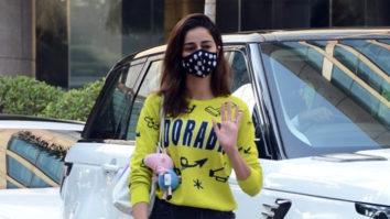 Ananya Panday spotted at Hyatt Residency Andheri
