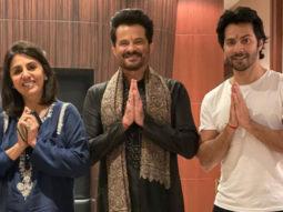 BREAKING! Varun Dhawan, Anil Kapoor, Neetu Kapoor and Raj Mehta test positive amid the filming of Jug Jugg Jeeyo in Chandigarh