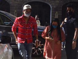 Bharti Singh & Haarsh Limbachiyaa snapped at NCB office