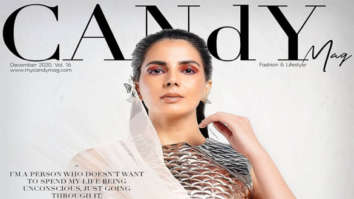 on the cover of CANdYMAG, Dec 2020
