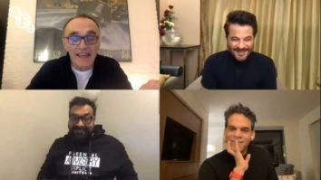 Danny Boyle praises AK vs AK during a conversation with Anil Kapoor, Anurag Kashyap and Vikramaditya Motwane