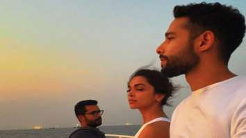 Deepika Padukone, Ananya Panday, Siddhant Chaturvedi and Shakun Batra enjoy the sunset during their boat ride