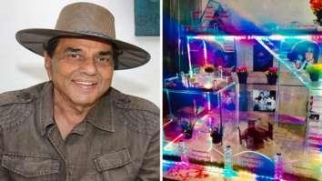 Dharmendra's fans create 'sheesh mahal' to celebrate the legendary actor's diamond jubilee