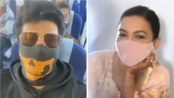 Exes Gauahar Khan and Kushal Tandon bump into each other on a flight post her wedding to Zaid Darbar