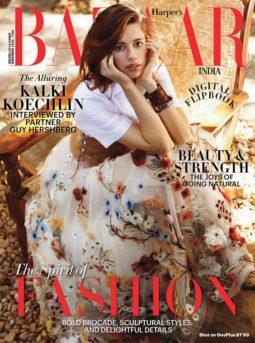 Kalki Koechlin On The Cover Of Harper's Bazaar