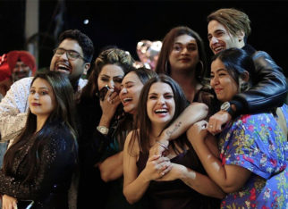 Himanshi Khurana is all smiles in the candid pictures from her birthday celebration in Dubai with Asim Riaz and friends