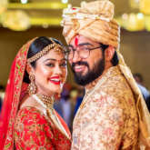 INSIDE PICTURES: 'Bekhayali' fame composer duo Sachet Tandon and Parampara Thakur tie the know in lavish ceremony