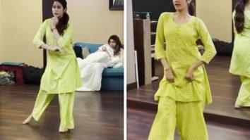 Janhvi Kapoor leaves everyone impressed with her dance rehearsal videoon 'Kanha' song from Shubh Mangal Saavdhan
