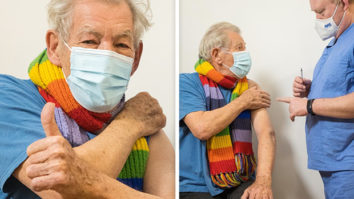 Lord of the Rings star Sir Ian McKellen feels euphoric after receiving first dose of the COVID-19 vaccine in the UK
