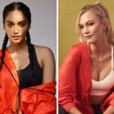 Manushi Chhillar sports activewear from supermodel Karlie Kloss' new clothing collection in collaboration with Adidas